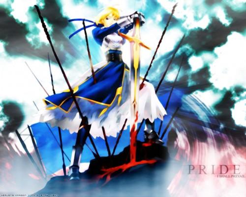Ugetsu Hakua, Fate/stay night, Saber, Doujinshi, Occupations Wallpaper