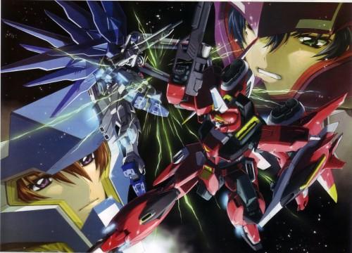 RGB, Sunrise (Studio), Mobile Suit Gundam SEED Destiny, Kira Yamato, Athrun Zala