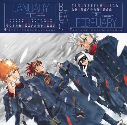 Kubo Tite, Bleach, Ichigo Kurosaki, Gin Ichimaru, Renji Abarai