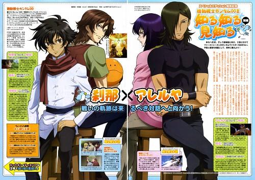 Sunrise (Studio), Mobile Suit Gundam 00, Lockon Stratos, Haro, Setsuna F. Seiei