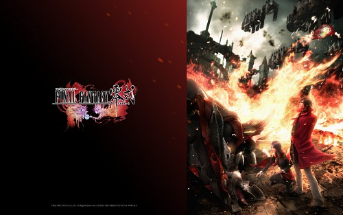 Square Enix, Final Fantasy Type-0, Machina Kunagiri, Rem Tokimiya, Official Wallpaper
