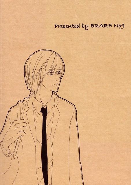 Death Note, Light Yagami, Doujinshi Cover, Doujinshi