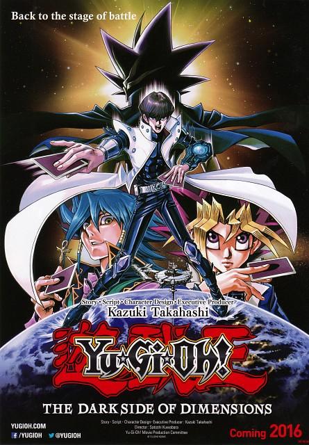 Kazuki Takahashi, Studio Gallop, Yu-Gi-Oh Duel Monsters, Seto Kaiba, Yami Yuugi