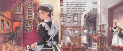 Kaoru Mori, Victorian Romance Emma, Emma (Victorian Romance Emma), Manga Cover