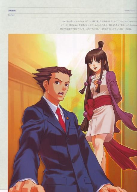 Minako Iwasaki, Capcom, Ace Attorney, Phoenix Wright, Maya Fey
