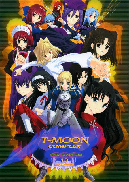 Kara no Kyokai, Melty Blood, Shingetsutan Tsukihime, Fate/stay night, Sakura Matou