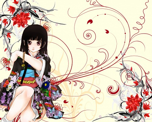 Miyuki Etoo, Jigoku Shoujo, Ai Enma Wallpaper