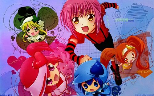 Peach-Pit, Satelight, Shugo Chara, Miki, Dia Wallpaper