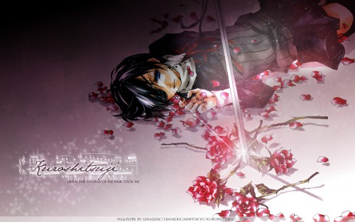 Shina Himetsuka, Kuroshitsuji, Ciel Phantomhive Wallpaper