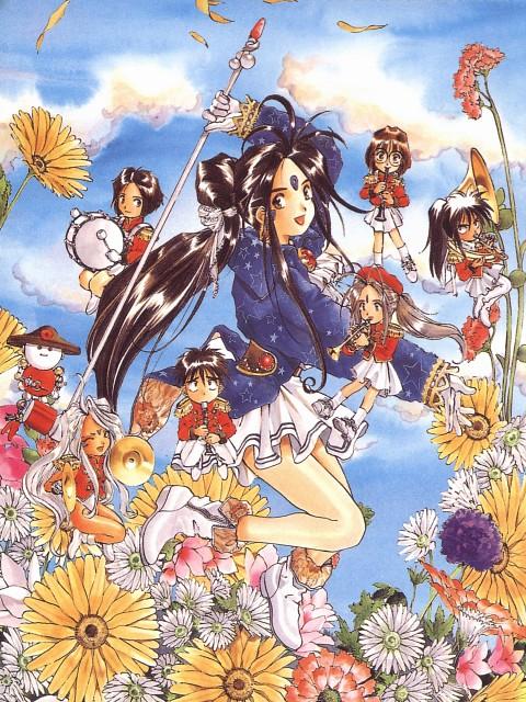 Kousuke Fujishima, Anime International Company, Ah! Megami-sama, Ah! Megami-sama Postcard Book, Keiichi Morisato