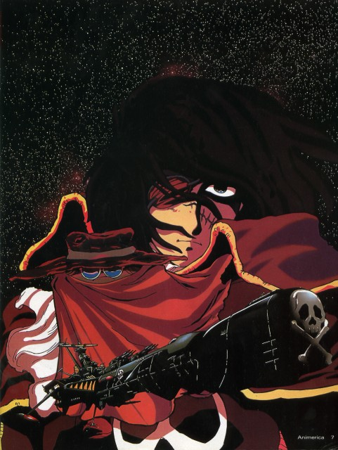 Reiji Matsumoto, Toei Animation, Captain Harlock, Phantom Harlock