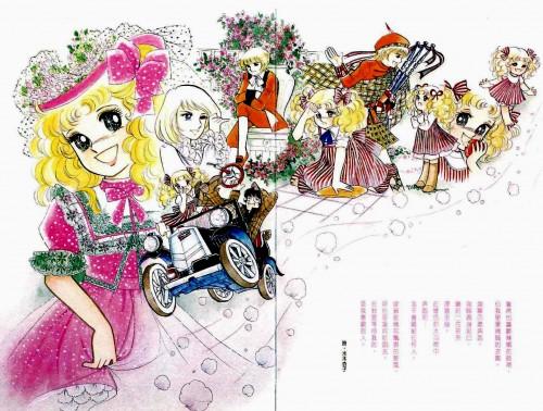 Yumiko Igarashi, Candy Candy, Stear Cornwell, Candice White Ardlay, Anthony Brown