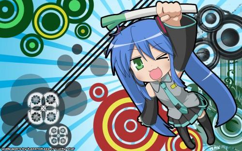 Lucky Star, Vocaloid, Konata Izumi Wallpaper