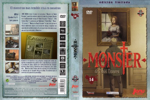 Naoki Urasawa, Madhouse, Monster, DVD Cover