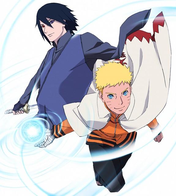 Studio Pierrot, Naruto, Sasuke Uchiha, Naruto Uzumaki, Official Digital Art