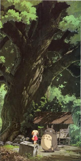 Kazuo Oga, Studio Ghibli, My Neighbor Totoro, Totoro, Mei Kusakabe