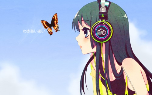 Kakifly, Noizi Ito, K-On!, Mio Akiyama Wallpaper