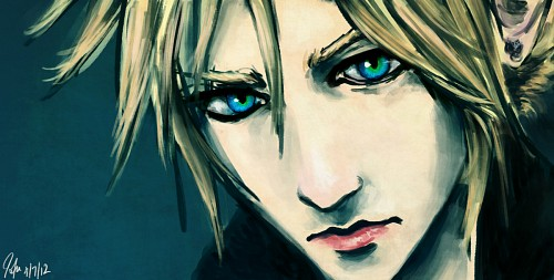 Square Enix, Final Fantasy VII: Advent Children, Cloud Strife, Member Art