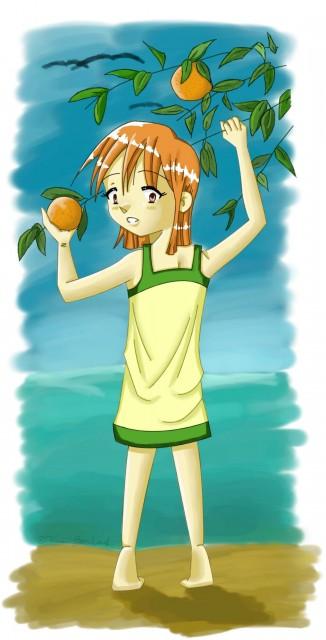 Eiichiro Oda, Toei Animation, One Piece, Nami, Member Art
