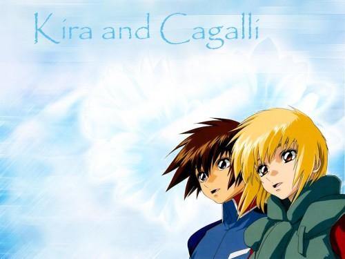 Sunrise (Studio), Mobile Suit Gundam SEED, Cagalli Yula Athha, Kira Yamato Wallpaper