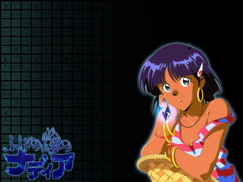 Yoshiyuki Sadamoto, Nadia: The Secret of Blue Water, Nadia La Arwall Wallpaper