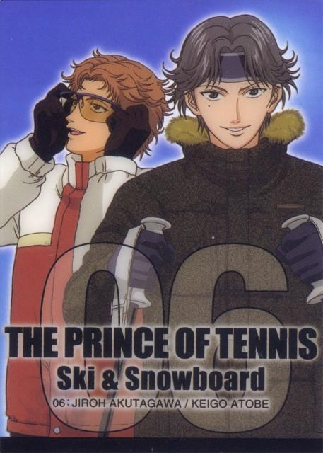 Takeshi Konomi, J.C. Staff, Prince of Tennis, Jirou Akutagawa, Keigo Atobe