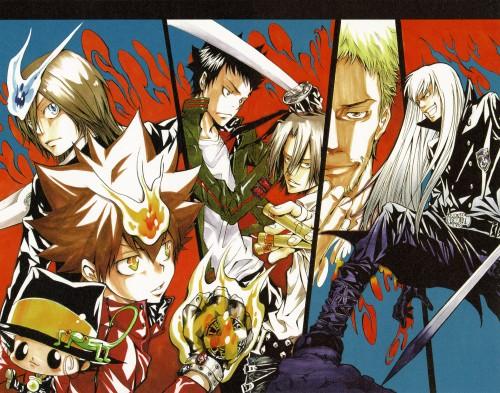 Akira Amano, Katekyo Hitman Reborn!, Colore!, Superbi Squalo, Leon (Katekyo Hitman Reborn!)