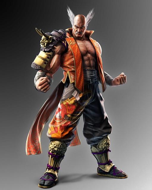 Namco, Tekken, Heihachi Mishima, Official Digital Art
