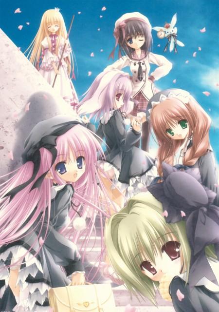 Tinkerbell, Magical Tale, Ren (magical Tale), Farfa, Sasha (magical Tale)