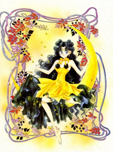 Naoko Takeuchi, Bishoujo Senshi Sailor Moon, BSSM Original Picture Collection Vol. III, Human Luna
