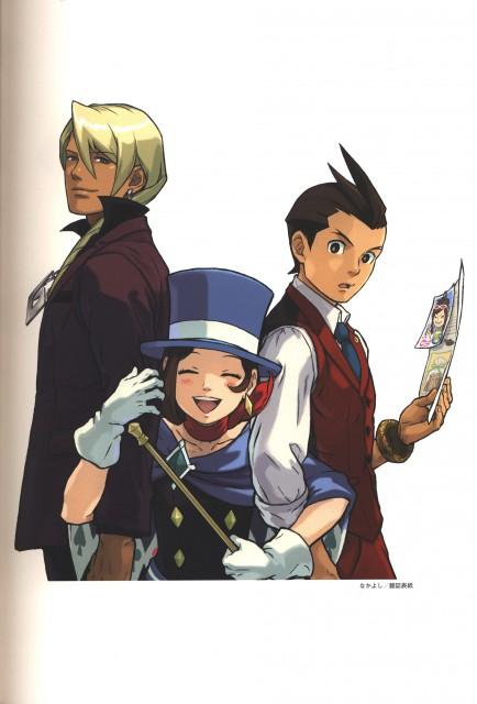 Capcom, Art of Gyakuten Saiban - Odoroki, Ace Attorney, Apollo Justice, Klavier Gavin