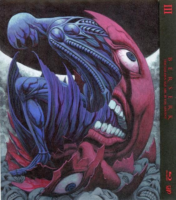 Kentaro Miura, OLM Digital Inc, Berserk, Griffith, DVD Cover