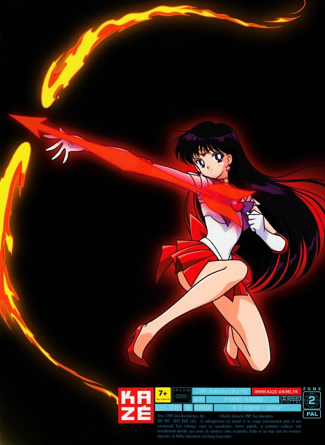 Marco Albiero, Toei Animation, Bishoujo Senshi Sailor Moon, Sailor Mars