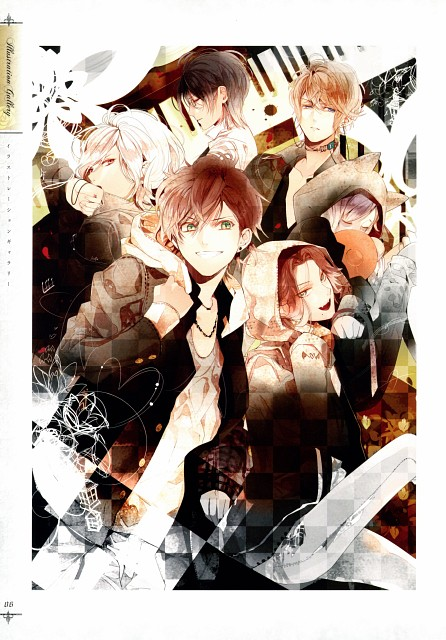 Satoi, Zexcs, Idea Factory, Rejet, Diabolik Lovers Official Visual Fan Book