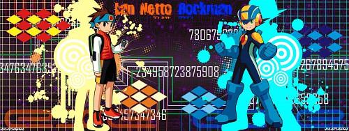Capcom, MegaMan, Netto Hikari Wallpaper