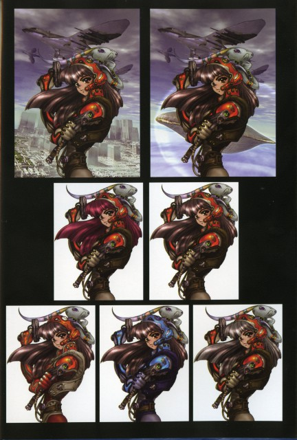 Masamune Shirow, Pieces 1
