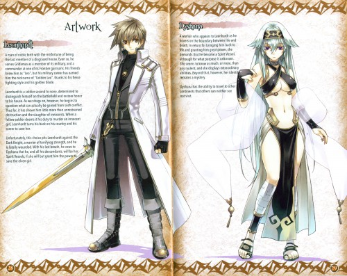 Idea Factory, Record of Agarest War, Dyshana, Leonhardt