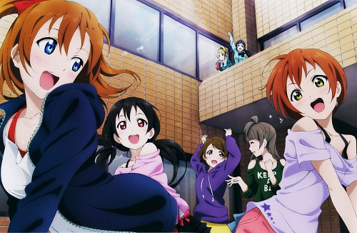 Sunrise (Studio), Love Live! Perfect Visual Collection - Dream, Love Live! School Idol Project, Honoka Kosaka, Eri Ayase