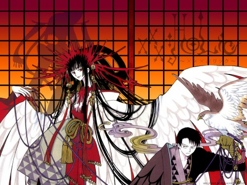 CLAMP, Production I.G, xxxHOLiC, Shizuka Doumeki, Yuuko Ichihara Wallpaper