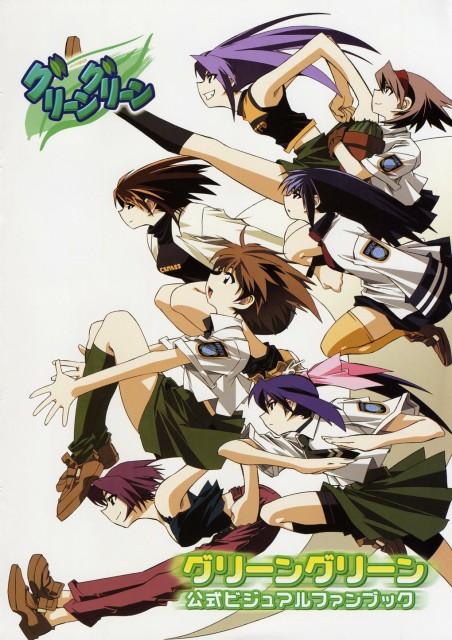 Groover, Green Green, Sanae Minami, Wakaba Kutsuki, Futaba Kutsuki