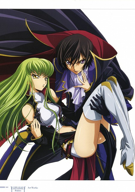 Takahiro Kimura, Sunrise (Studio), Lelouch of the Rebellion, Code Geass Illustrations Relation, C.C.