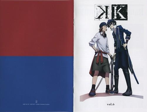 GoHands, K Project, A Memory of Kings - K Official Guide Book, Saruhiko Fushimi, Misaki Yata