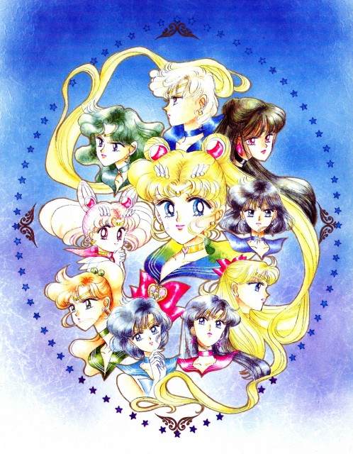 Naoko Takeuchi, Bishoujo Senshi Sailor Moon, BSSM Original Picture Collection Vol. III, Sailor Uranus, Sailor Venus
