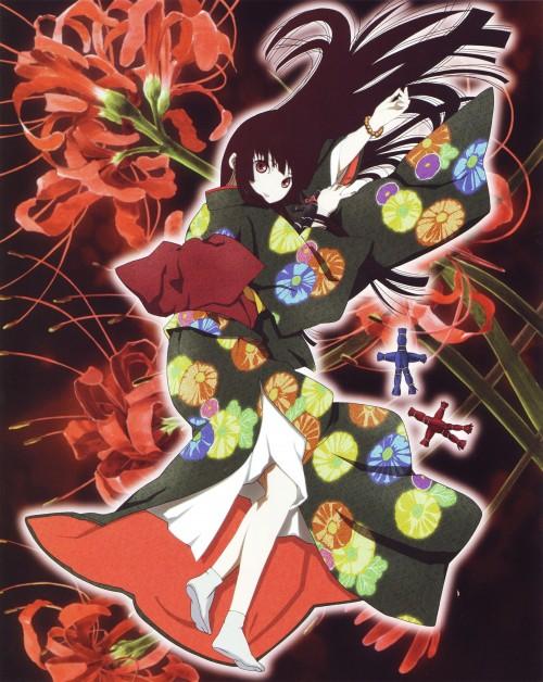 Mariko Oka, Miyuki Etoo, Studio Deen, Jigoku Shoujo, Jigoku Shoujo Illustrations - Kyouka Suigetsu