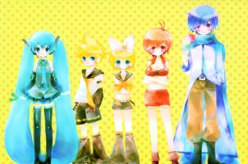 Shimeko, Landmark, Vocaloid, Miku Hatsune, Kaito