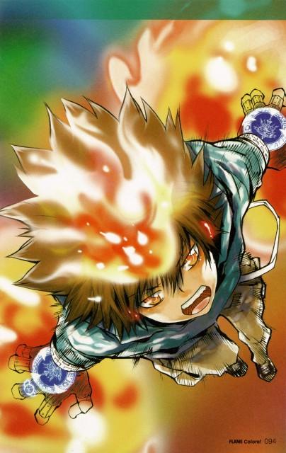 Akira Amano, Katekyo Hitman Reborn!, Colore!, Tsunayoshi Sawada
