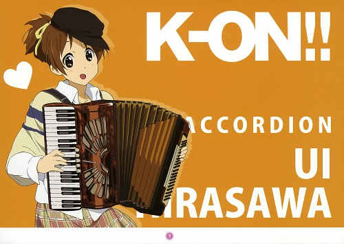 Kakifly, Kyoto Animation, K-On!, K-On! Mini Illustration Book, Ui Hirasawa