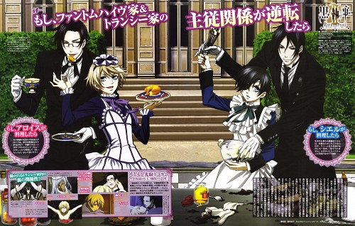 A-1 Pictures, Kuroshitsuji, Sebastian Michaelis, Hannah Annafellows, Ciel Phantomhive