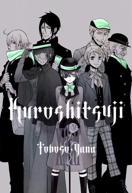 Yana Toboso, A-1 Pictures, Kuroshitsuji, Finnian, Maylene