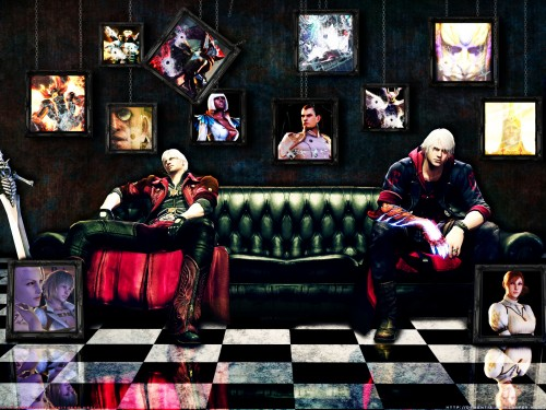 Capcom, Devil May Cry, Nero, Dante Wallpaper